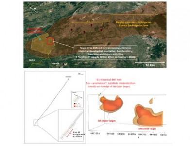 Donje Nevlje project geological setting