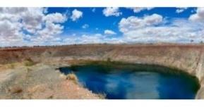 Figure 4 - Mt Sholl test mining pit